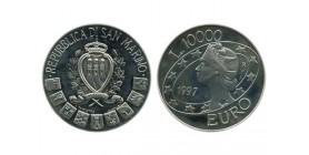 10000 Lires Saint Marin Argent