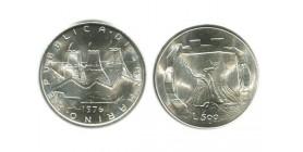 500 Lires Saint Marin Argent