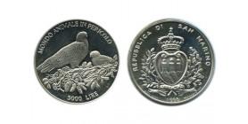 5000 Lires Saint Marin Argent