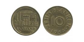 10 Franken Sarre