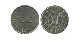 100 Franken Sarre