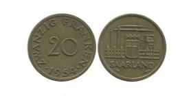 20 Franken Sarre