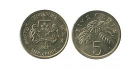 5 Cents Singapour