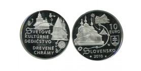 10 Euros Slovaquie - Argent