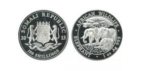 100 Shillings Somalie Argent