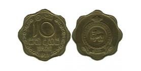 10 Cents Sri Lanka