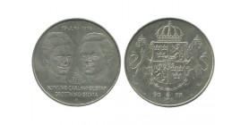 50 Couronnes Charles XVI et Gustave VI Suède Argent