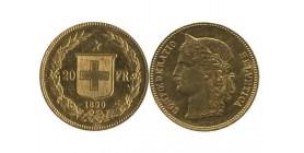 20 Francs Helvetia Suisse
