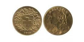 20 Francs Vreneli Suisse