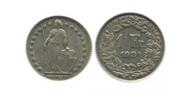 1 Franc Suisse Argent - Confederation