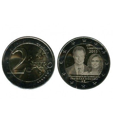 2 Euros Commemoratives Luxembourg