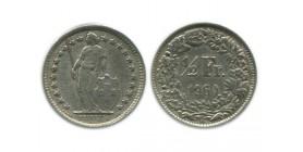1/2 Franc Suisse Argent - Confederation