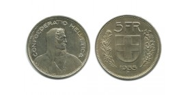 5 Francs Suisse Argent - Confederation