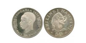 50 Shilingi Tanzanie - Argent