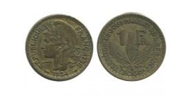 1 Franc Togo - Territoire sous mandat