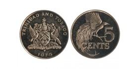 5 Cents Trinité et Tobago
