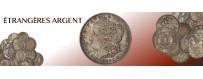 Monnaies Argent Etrangères